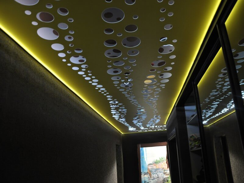 techos de dos niveles